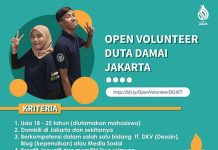 Open Volunteer DD Jakarta 2020